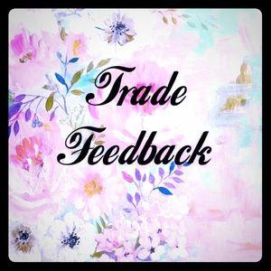 TRADE FEEDBACK !!! 👛 👠 👗   ♥️ ✌️ 🌸